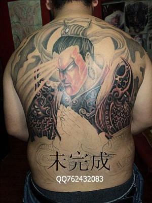 超有个性的满背二郎神纹身第6页图片